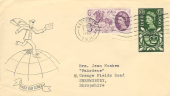 1960 General Letter Office, Illustrated FDC, Battersea SW11 Cancel.