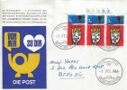 1966 Christmas, Rheindahlen Garrison Stamp Club FDC, British Forces Postal Service 1000 H/S.