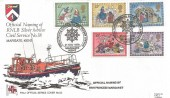 1979 Christmas Pilgrim RNLI Official FDC