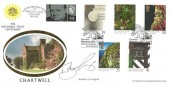 1995 National Trust, Benham Official FDC, Chartwell Westerham Kent National Trust Centenary H/S. Signed by Bamber Gascoigne.