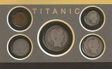 1912, Titanic Historic Coins Booklet, Collection of 1912 American Coins of the Titanic, Produced by The Morgan Mint.