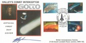 1986 Halley's Comet, DG Taylor Official Interplanetary Society FDC, The return of Halley's Comet The British Interplanetary Society London SW H/S, Signed.