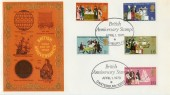 1970 General Anniversaries with British Anniversary Stamps Canterbury H/S