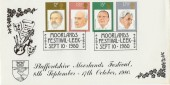 1980 British Conductors Moorlands Festival Leek Staffs. Official FDC