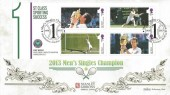 2013 Andy Murray, Benham Gold 500 Official FDC, Men's Singles Championship Wimbledon 1 1936 - 2013 London H/S.