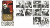 2014 Remarkable Lives, Benham Gold 500 Official FDC, London EC (Cine Camera) H/S.