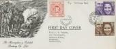 1973 Royal Wedding, Ravenglass & Eskdale Railway Co. Ltd FDC, Seascale Cumberland cds + Railway Letter Stamp.