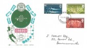 1970 Commonwealth Games, Gemini Covers FDC, Bournemouth - Poole FDI