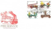 1974 Fire Service, Post Office FDC, Cambridgeshire Fire & Rescue Service Cambridge H/S.