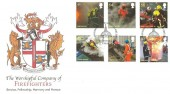 2009 Fire & Rescue, Buckingham Cover Series 3 No 43 Official FDC, 70th Anniversary of the Auxiliary Fire Service London EC1 H/S.