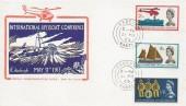 1963 International Lifeboat Conference, Illustrated FDC, Fareham Hants. cds.