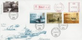 2001 Submarine, Special Delivery 4d Post FDC, Trident Meter Mark, Devonport Plymouth cds.