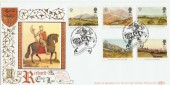 1994 The Prince of Wales Benham SG23 Richard I Nottingham Official FDC