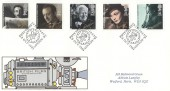 1985 British Film Year, Royal Mail FDC, 50 Years National Film Archives W1 H/S.