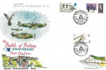 1970, 30th Anniversary of the Battle of Britain, Commemorative Flown by Hurricane Cover, Battle of Britain 30th Anniversary British Forces 1120 Post Service H/S.