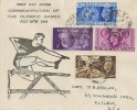 1948 Olympic Games Wembley, Eltham College FDC, Eltham SE9 cds.