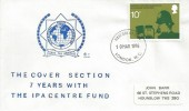 1976 Telephone, International Police Association FDC, 10p Police Stamp only, London WC FDI.