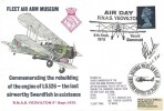 1970 Fleet Air Arm Museum LS326 Swordfish RNAS Yeovilton Air Display Commemorative Cover, Doubled with National Police Rally Shoreham Airport 1974. Signed.