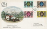 1977 Silver Jubilee, 1909 Rolls Royce FDC, First Day of Issue Windsor, Berks H/S.