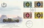 1977 Silver Jubilee 1911 Rolls Royce FDC