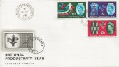 1962 National Productivity Year, Illustrated FDC, Poundfield Crowborough Sussex cds.