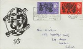 1965 Commonwealth Arts Festival, Illustrated FDC, Visit Mansfield Centre for Sherwood Forest Slogan.