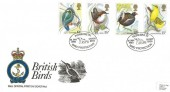 1980 British Birds, RNLI Official FDC No.1, RSPB Pioneers in Bird Protection Sandy Beds. H/S.