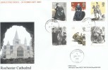2005 Jane Eyre, Special Delivery Classic cds FDC, Rochester Kent cds.