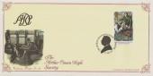 1993 Sherlock Holmes, Arthur Conan Doyle Society, Bradbury Victorian Print Official No.80 FDC, 24p Reigate Squire Stamp Only, The Arthur Conan Doyle Society Chester H/S.