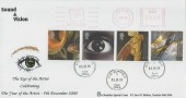 2000 Sound & Vision, Phil Sheridan FDC, Hartcliffe (Eye Logo) Meter Mark, Eye Suffolk cds.