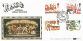 1983 British Fairs, Benham BOCS(2)21 Official FDC, Turner's Musical Merry-Go-Round Northampton Northants H/S.