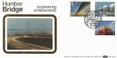 1983 Engineering, Benham BLS3 FDC, A Tribute to British Engineering Worlds' Longest Single Span Humber Bridge Hull H/S.