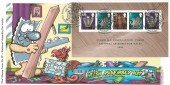 2006, Welsh Assembly Miniature Sheet, Phil Stamp Cover No. 98 Official FDC, National Assembly Wales Cardiff  / Caerdydd H/S.