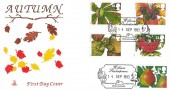 1993 Autumn, Mercury FDC, William Shakespeare Stratford Upon Avon Warwickshire H/S.