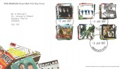 2007 The Beatles, Royal Mail FDC, Windsor Castle SL4 1NJ cds.