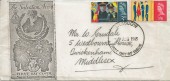 1965, Salvation Army, Handmade Illustrated FDC, Glasgow FDI.