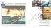 2001 Submarines, Buckingham Covers No.6 Official FDC (Internetstamps),Royal Navy Submarine Museum Gosport Home of Holland1 H/S. Signed by Vera Lynn.