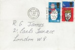 1966 Christmas, Plain FDC, Ship Early Through the Port of London Slogan London SW1.