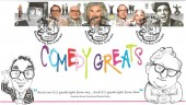 2015 Comedy Greats, Pair of Harriet's Collection HC05 & HC05M Official FDC's, Comedy Greats Parrots Lane Tring Herts. H/S.