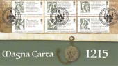 2015 Magna Carta, Harriet's Collection Official HC09 FDC, Magna Carta Runnymede Windsor H/S.