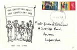 1965 Salvation Army, Holmes Tolley FDC, Glasgow FDI