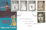 1969 Prince of Wales Investiture, Connoisseur Special Issue FDC, Nottingham FDI.