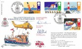1985 Safety at Sea, RFDC No.36 Official FDC, No.22 Squadron RAF BF1890PS H/S, Signed.