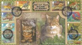 2002, The Just So Stories, Benham BLCS218 Official FDC, The Cat That Walked by Himself Westwood Stafford H/S.