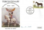 1978 Shire Horse Society, SP Official FDC, 13p Stamp Only, Royal Scots Dragoon Guards BF 1678 PS H/S.