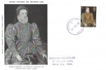 1968, British Paintings, Maxicard, 4d Stamp Only, Purple Greenwich S.D.O. SE10 cds.
