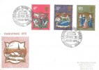 1970 Christmas, Historic Relics FDC, Lilleshall Parish Church Lilleshall Salop H/S.