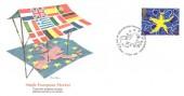 1992, Single European Market, Fleetwood FDC, First Day of Issue Philatelic Bureau Edinburgh H/S.