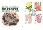 1976 Roses Benham Woodcut Year of the Rose Northampton H/S