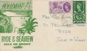 1960, General Letter Office, Ryde & Seaview Isle of Wight FDC, Shanklin Isle of Wight cds.